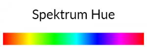 Spektrum HUE pada HSL CSS